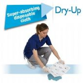 DRY-UP Liquid Absorbing Disposable Super Pads x 10 Pack